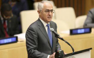 Malcolm Turnbull UN