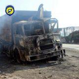 aid convoy attacked Syria