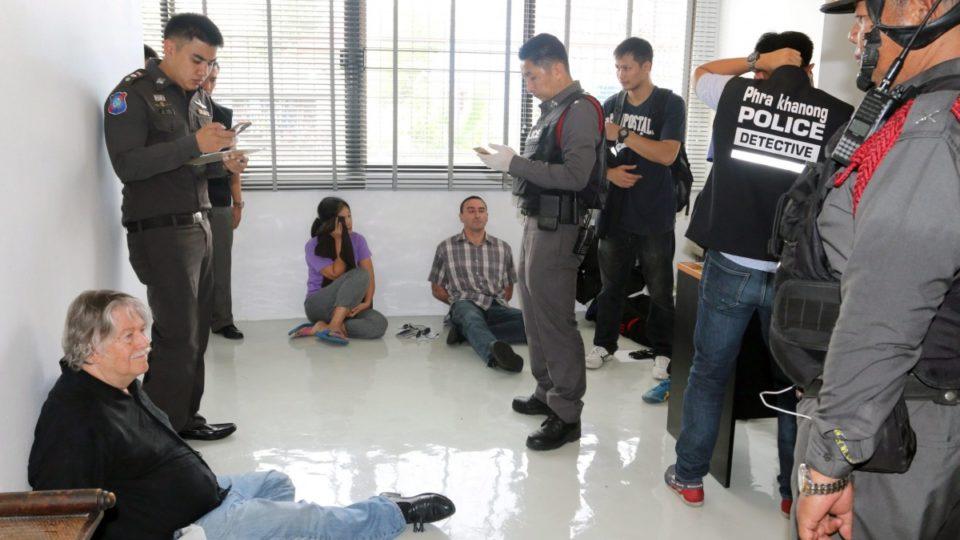 Guns, crystal meth and body found in freezer in Bangkok police raid