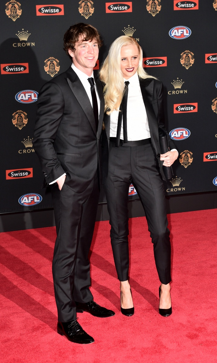 The AFL's best players and their guests have come out to play at Crown Casino in Melbourne for the 2016 Brownlow Medal.