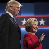 Clinton and Trump debate