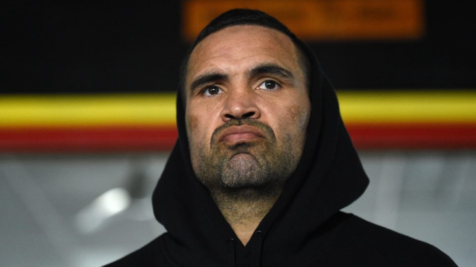 Boxer Anthony Mundine won't stand for the national anthem.