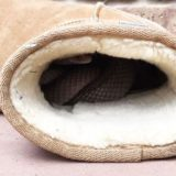 snake in ugg boot