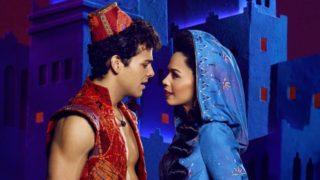 How do Aladdin and Jasmine fly through the air?