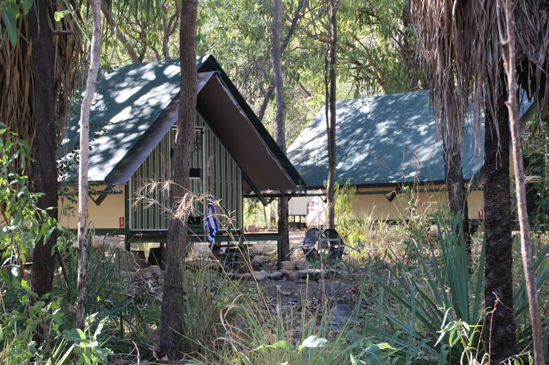 Cabin tents at Emma Gorge.