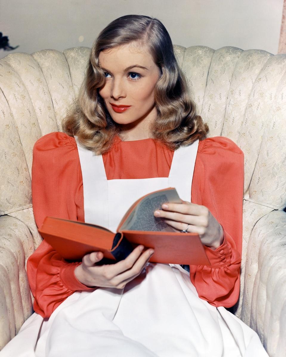 Reading goes retro. Photo: Getty
