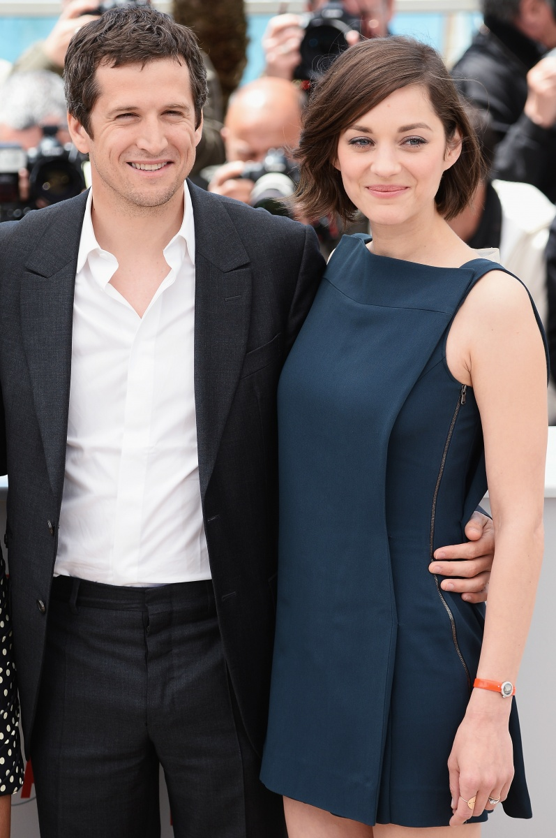 Cotillard with her longtime love, Guillaume Canet. Photo: Getty