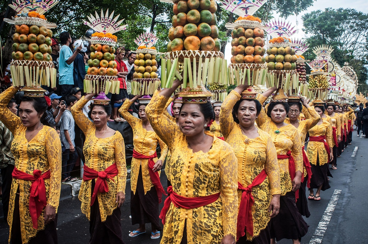 These are the people with the real style in Bali. Photo: Getty