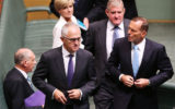 The Turnbull vs Abbott ructions played out in parliament are reminiscient of the Rudd-Gillard years.