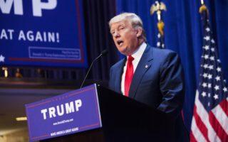 Trump on campaign trail