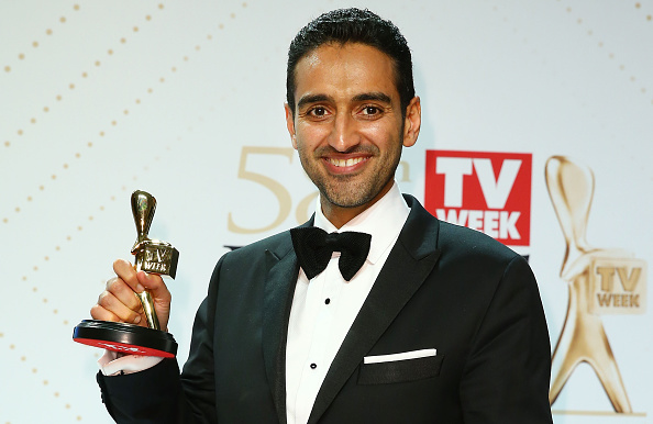 Waleed Aly won the Gold Logie earlier in 2016. Photo: Getty