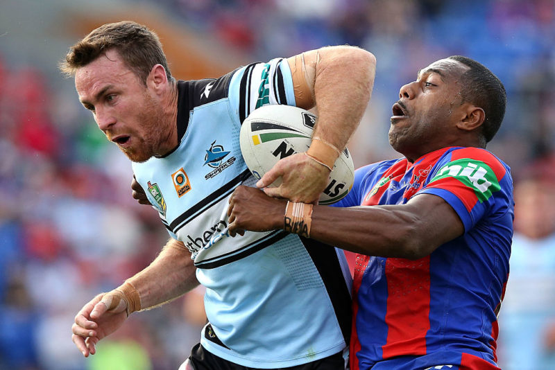 Sharks star James Maloney was a unanimous choice by our panel.