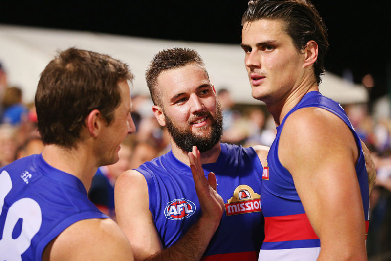 Former Hawks player and TND columnist Matt Suckling is the only Bulldog with grand final experience.