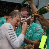 Nico Rosberg Italian GP winner