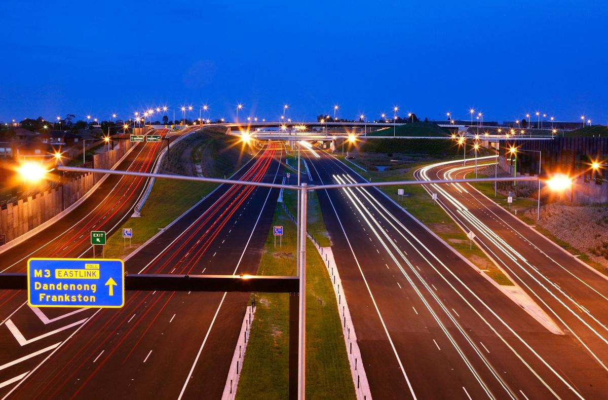 Eastlink was Australia's largest urban road project