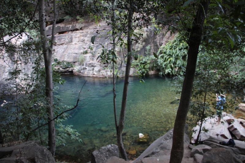 Emma Gorge waterhole.
