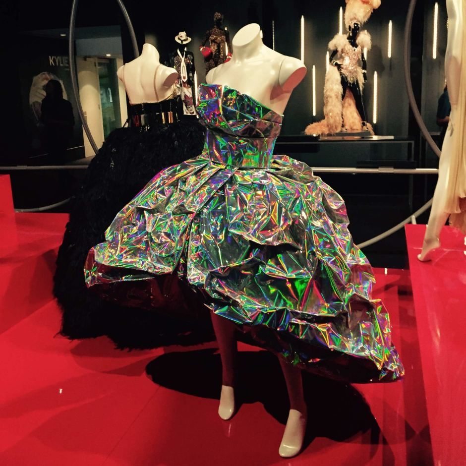 The exhibition is the second time the Arts Centre has displayed Minogueu0027s costumes. & Kylie Minogueu0027s iconic costumes go on display in Melbourne