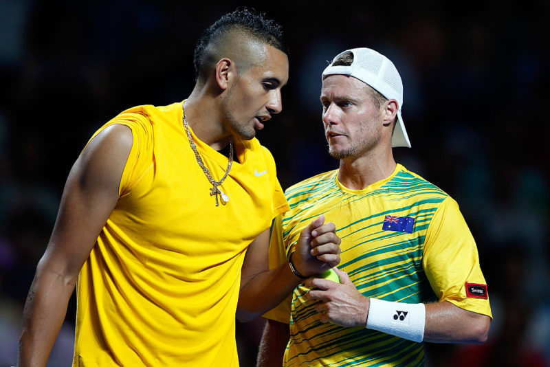 Lleyton Hewitt has taken on a mentorship role for Nick Kyrgios.