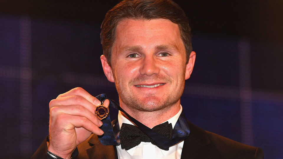 Pre count favourite patrick dangerfield did not have it all his own