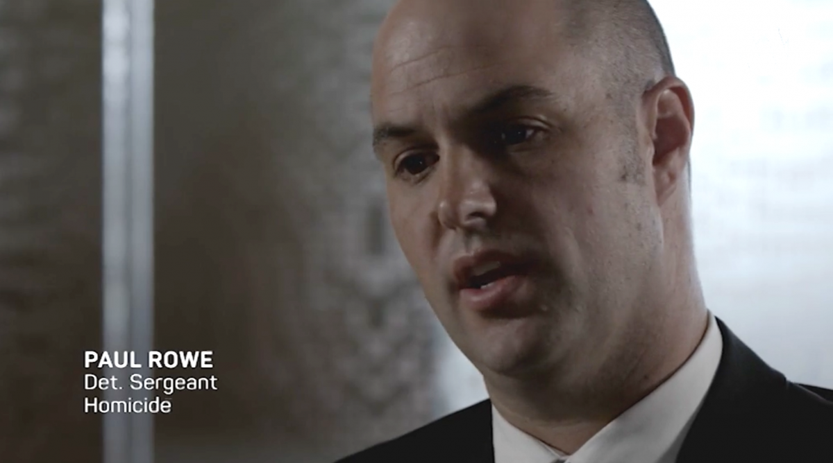 Paul Rowe never returned to work after solving the case. Photo: ABC