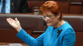 pauline hanson gay marriage