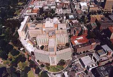 Aerial view of RAH