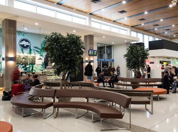 Upgrades inside Launceston Airport