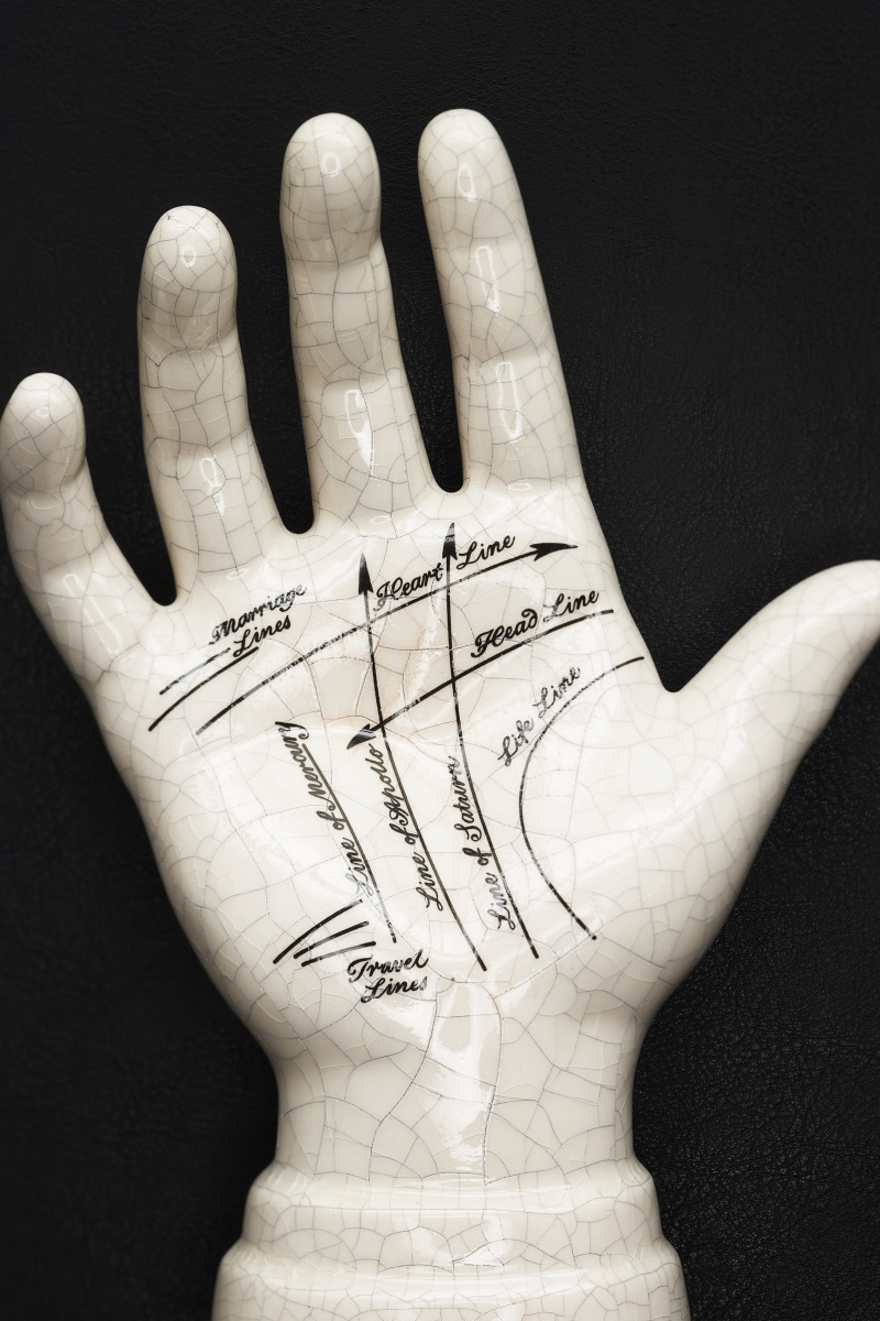A typical palmistry model. Photo: Getty