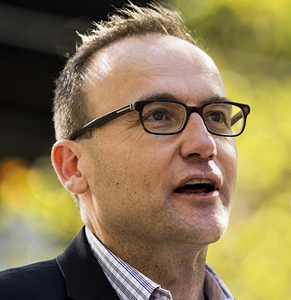 "Adam Bandt, Greens member for Melbourne, tells The New Daily he holds ""some hope"" for the government's parliamentary hearings into the banks. Photo: Getty"