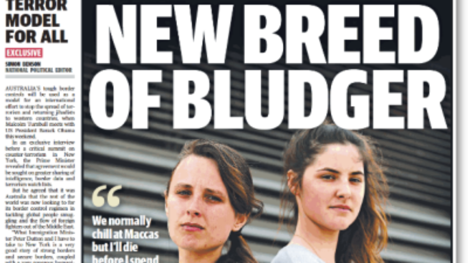 Newspaper Readers Winter Dilemma >> Dole Bludger Dilemma For News Corp The New Daily