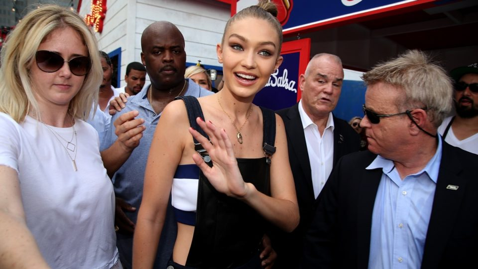 Gigi Hadid fights off attacker with elbow to the face