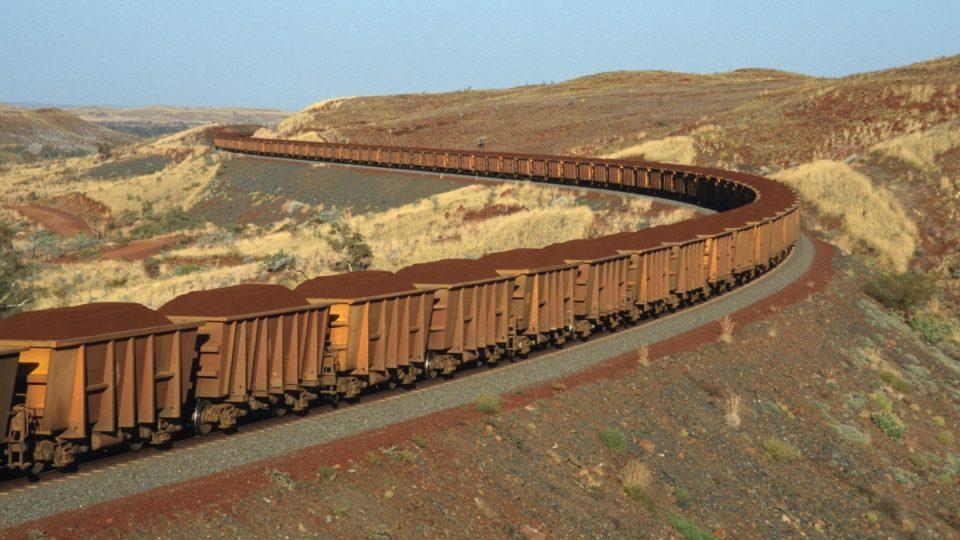 iron ore mine train