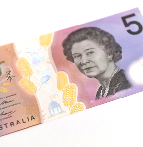The RBA recently redesigned the $5 note. Photo: AAP