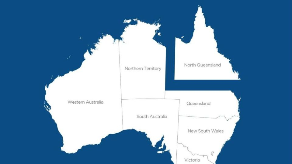 Image result for splitting the qld statr