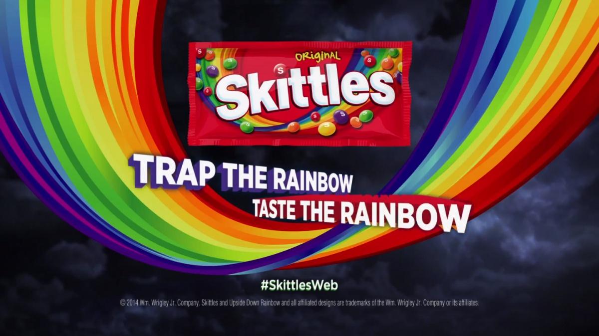 Go on Ben, taste the rainbow.