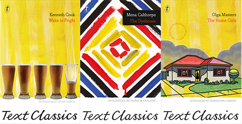 The Text Classics covers are eye-catching.