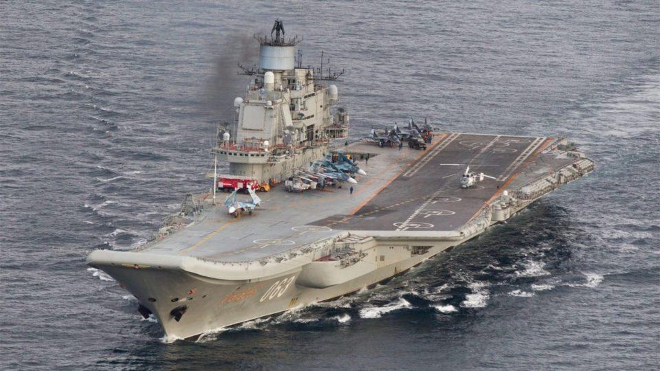 Russia Admiral Kuznetsov,
