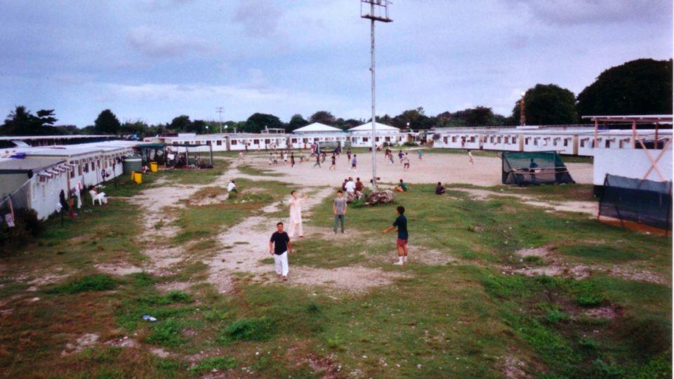 Nauru refugee detention centre