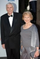 Ross Higgins and wife Nadine in 2006.
