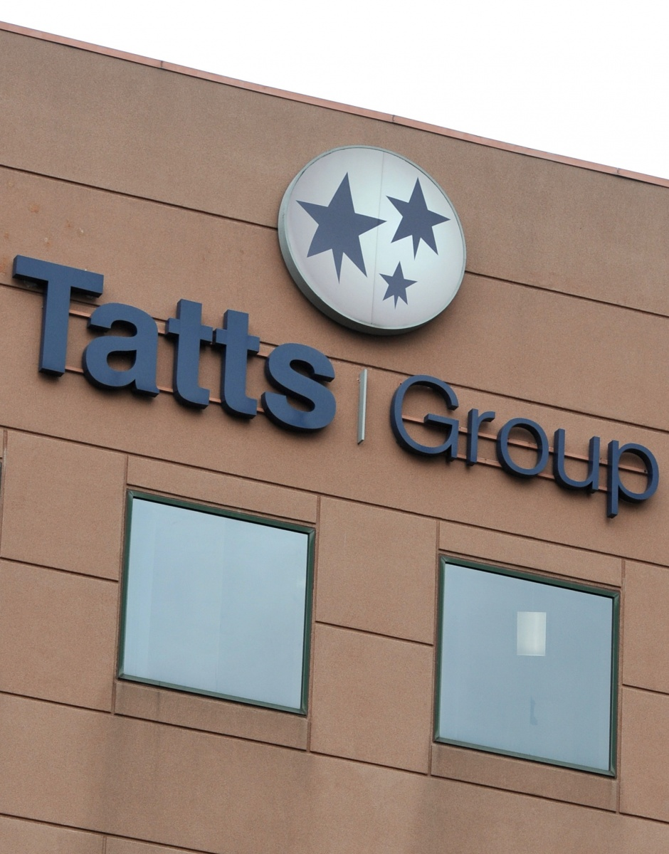Tatts shares were up by 12 per cent at lunchtime on Wednesday. Photo: AAP