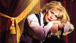 Police were called to eject Renee Geyer.