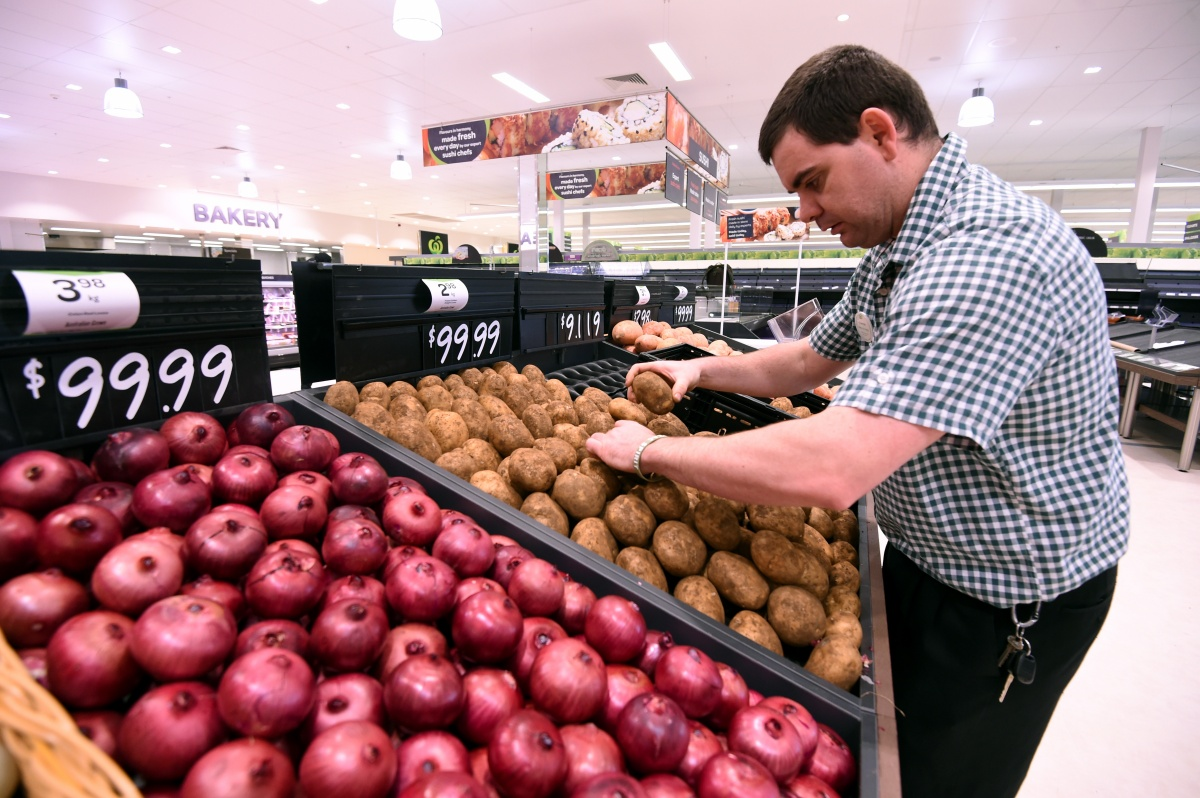 A lot of more expensive items are going through as onions. Photo: AAP