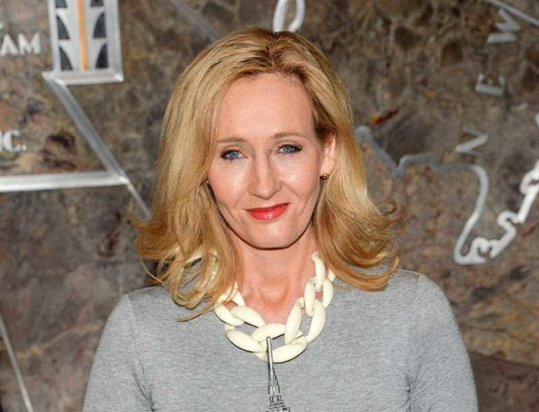 """""""I'm pretty sure that there are going to be five movies"""": JK Rowling. Photo: AAP."""
