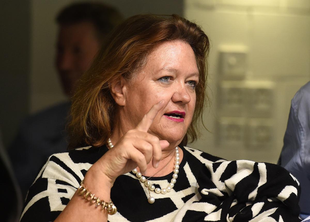 Australia's richest woman, Gina Rinehart, looks certain to take over the Kidman land and cattle empire.