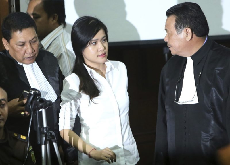 "Wongso allegedly sought to ""avenge her pain"" over the break-up with her Australian boyfriend. Photo: AAP."