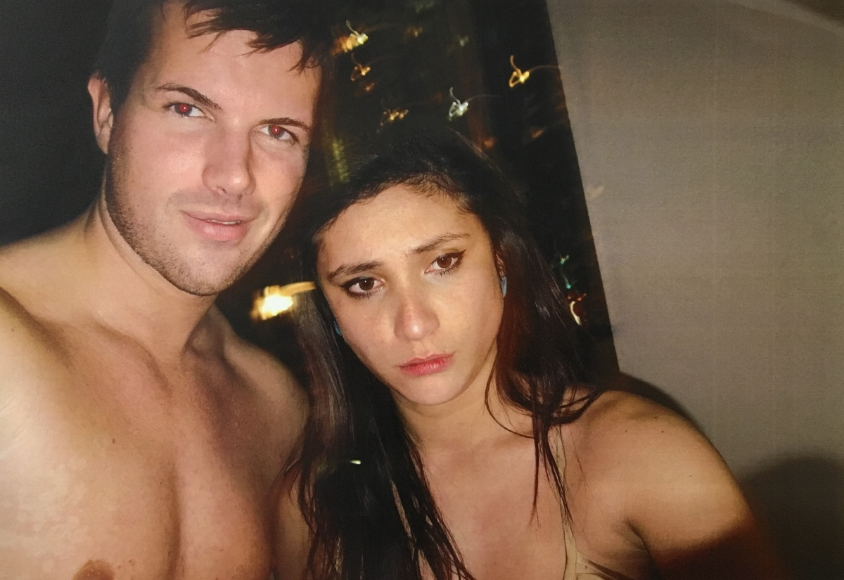 Gable Tostee and Warriena Wright just hours before the New Zealand tourist fell to her death.