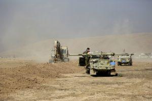 Peshmerga convoy Mosul