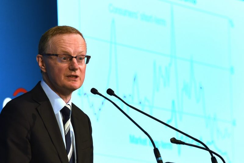 Dr Lowe told the conference Dr Lowe suggested the labour market was not as strong as it looked. Photo: AAP.