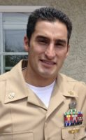 Chief Petty Officer Jason Finan, the first US serviceman to die during coalition effort in Mosul.