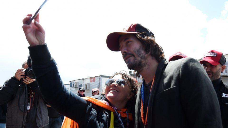 Keanu at MotoGP Australia